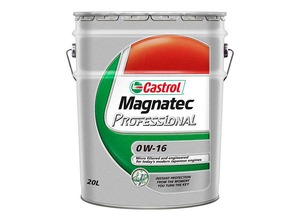 castrol製マグナテック プロフェッショナル0W-16
